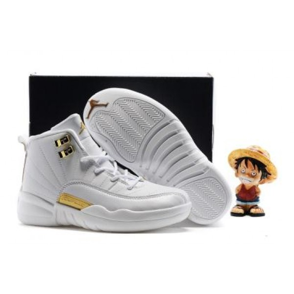 Air Jordan 12 OVO White For Kid