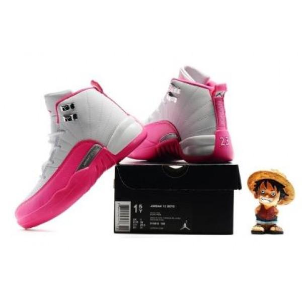 035fb93b415b uk nike jordan retro 12quotdeadly pinkquot black deadly pink big kid 75be7  3c723  norway air jordan 12 vivid pink gg for kid b7000 61fdf