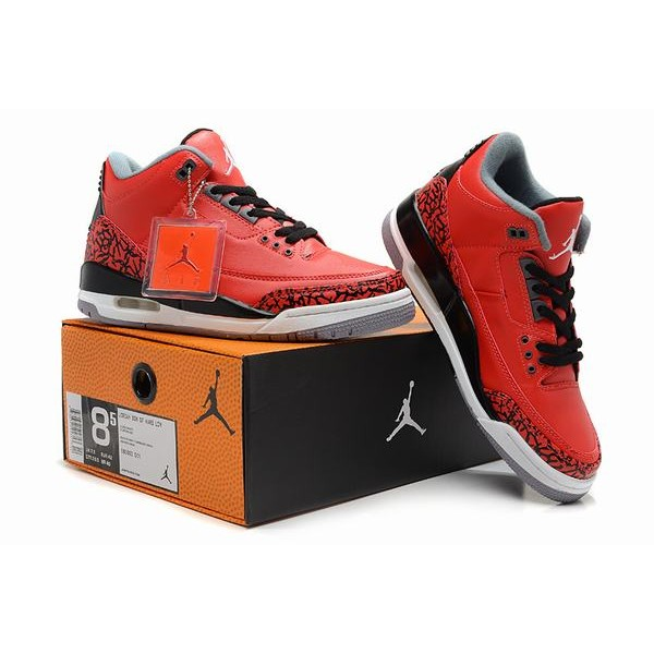 2260efe4a886 Air Jordan III (3) Retro Red Black White-83