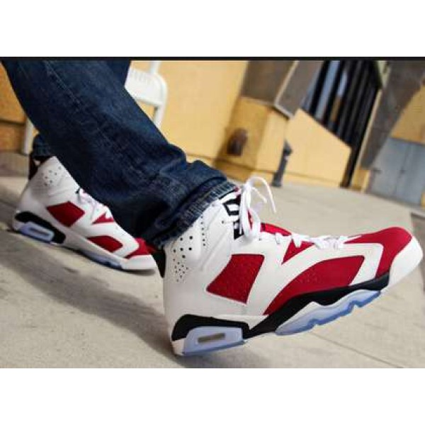 df35fc770095 Air Jordan VI (6) Retro Carmine For Women