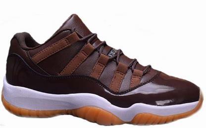 pretty nice 7393d 7e1c5 Air Jordan 11 Low Brown Gum Chocolate - Jordans for Men