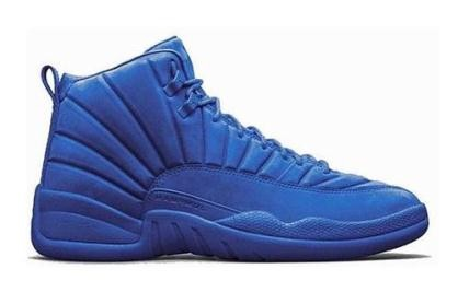 Air Jordan 12 Premium Blue - Jordans for Men 95d26248e