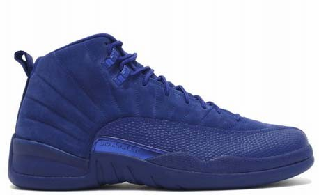 innovative design d3f18 45366 Air Jordan 12 Retro Blue Suede - Jordans for Men