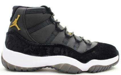 save off a8763 3f778 Air Jordans 11 HEIRESS Black Velvet - Jordans for Men