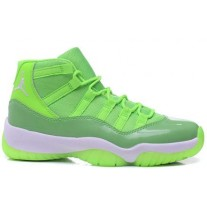 Air Jordan 11 Green/White