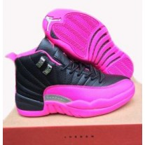 Air Jordan 12 Dynamic Black/Pink