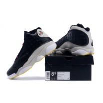 Air Jordan 13 Black/Gray/White