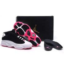 Air Jordan 13 Low White/Black/Pink