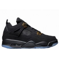 Air Jordan 4 Black/Gold Luminous