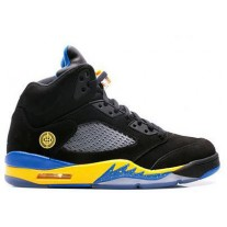 Air Jordan 5 Black Laney Black/Yellow/Royal