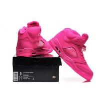 Air Jordan 5 Pink For Women