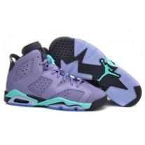 Air Jordan 6 Gray/Black/Blue