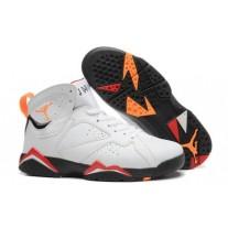 Air Jordan 7 White/Black/Red/Orange