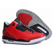 Air Jordan III (3) Retro Red/Black/White