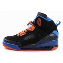 Air Jordan Spizikes Women Black Blue Orange-20