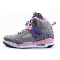 Air Jordan Spizikes Women Grey Pink White-23
