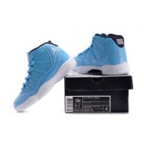 Air Jordan 11 Pantone University Blue White Black