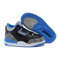 Air Jordan 3 Sport Blue For Kid