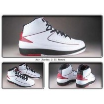 Air Jordan II (2) White Varsity Red Retro
