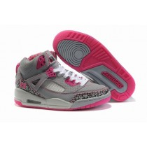 Air Jordan Spizikes Women Grey Pink-18