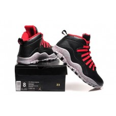 Air Jordan 10 Black/Gray/Red