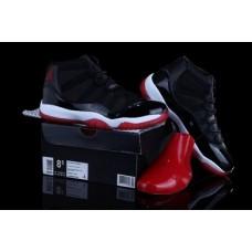 Air Jordan 11 Bred Black/White/Varsity Red