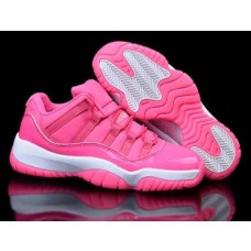 Air Jordan 11 Low Pink/White
