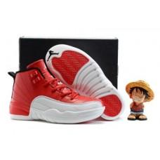 Air Jordan 12 Red/White For Kid