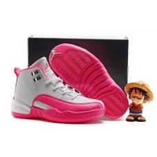 Air Jordan 12 Vivid Pink GG For Kid