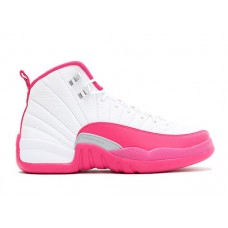 Air Jordan 12 Vivid Pink GG Women