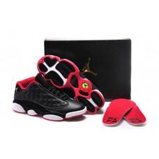 Air Jordan 13 Low Black/White/Red