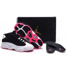 Air Jordan 13 Low White/Black/Pink