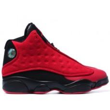 Air Jordan 13 Red Black Wool