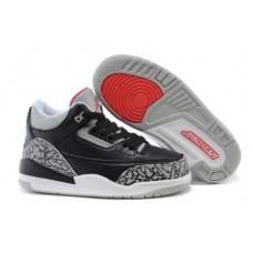 Air Jordan 3 Black Cement For Kid