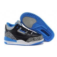 Air Jordan 3 Sport Blue For Kid