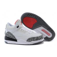 Air Jordan 3 White Cement For Kids