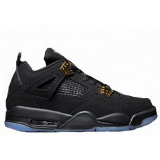Air Jordan 4 Black/Gold Luminous