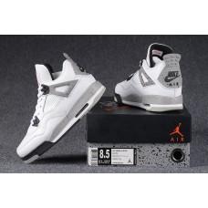 Air Jordan 4 white cement Women