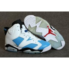 Air Jordan 6 White/Blue/Black