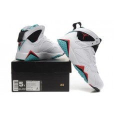 Air Jordan 7 White Black Red Blue