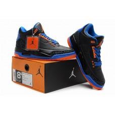 Air Jordan III (3) Retro Black Blue Orange-85