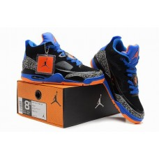 Air Jordan III (3) Retro Black Blue Orange-92