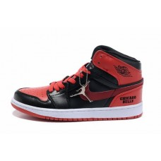 Air Jordan I (1) Retro Black Red White-130