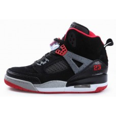 Air Jordan Spizikes Women Black Grey White Red-19