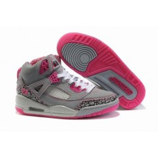Air Jordan Spizikes Women Grey Pink-18