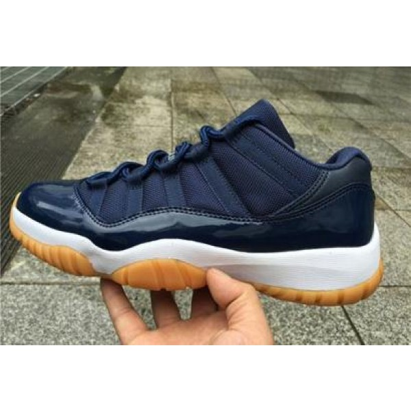 1a6d5a8dd29b Air Jordan 11 Low Navy Gum - Jordans for Men