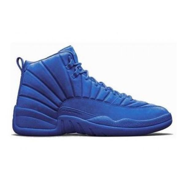 67c65c364996 Air Jordan 12 Premium Blue - Jordans for Men