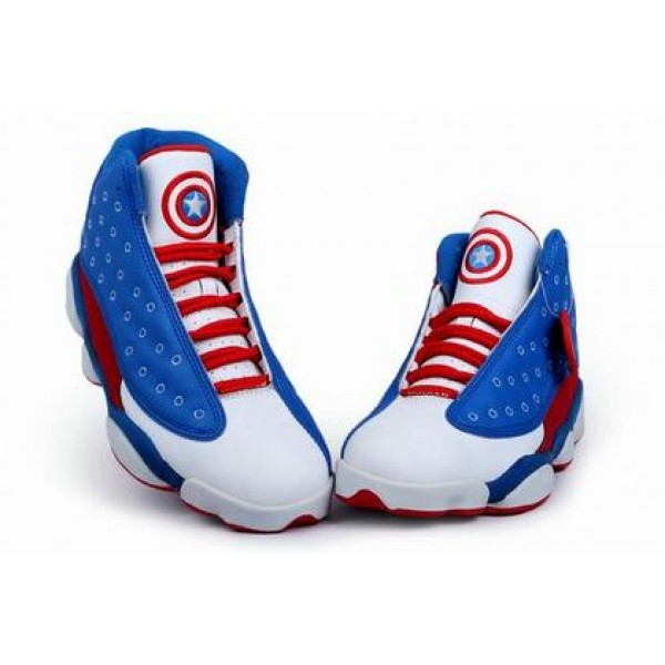 3d6db4d8a490f2 Air Jordan 13 Captain America - Jordans for Men