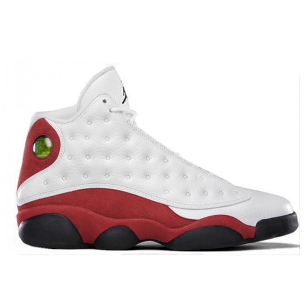 f32197713b6b8f Air Jordan 13 Retro White Red - Jordans for Men