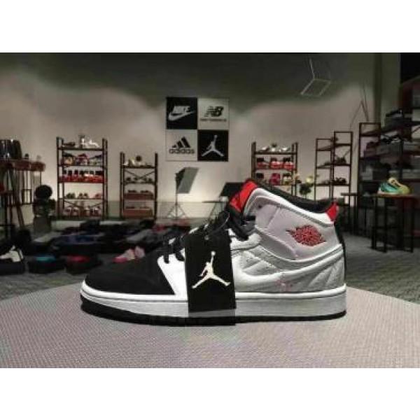 fce7da5a14b29b Air Jordan 1 White Black Red - Jordans for Men